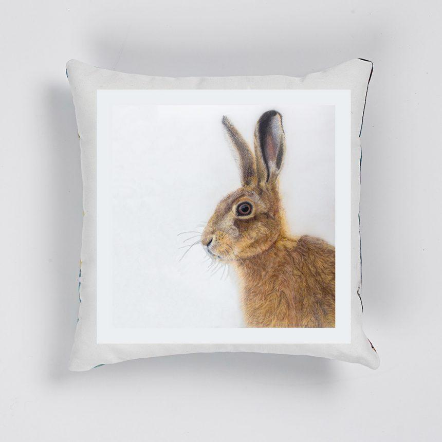 'Jill Hare' Cushion (UK only)